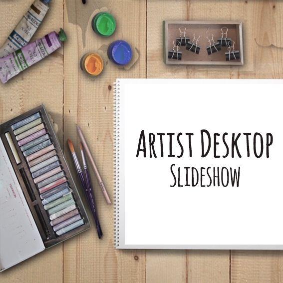 Artist Desktop Slideshow