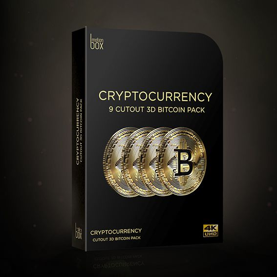 3D Cutout Bitcoin Pack