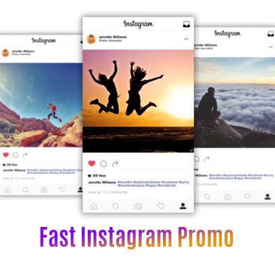 Fast Instagram Promo