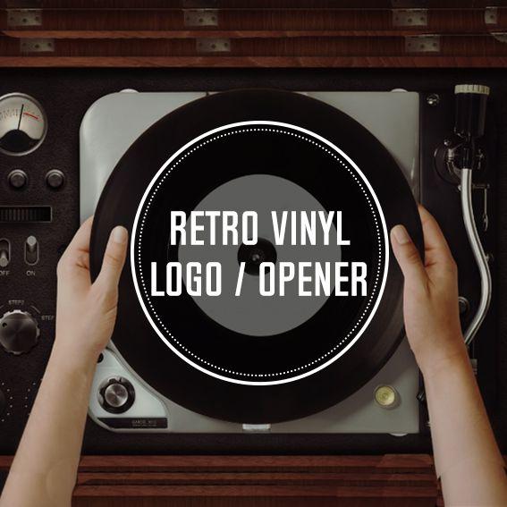 Music Vinyl Logo Opener