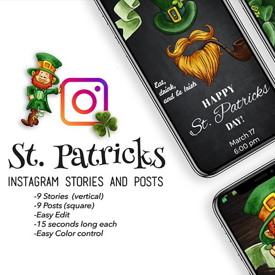 St. Patricks Stories and Posts